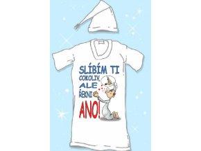Noční košile - Slíbím ti cokoliv, ale...