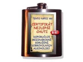 Placatka - Tento nápoj má certifikát