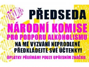 Průkaz - Předseda národní komise pro ...