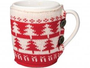 Vánoční hrnek ve svetru
