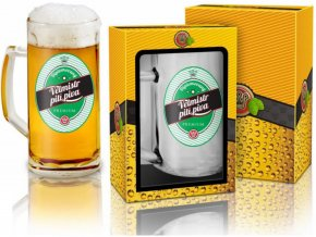 Půllitr - Velmistr pití piva