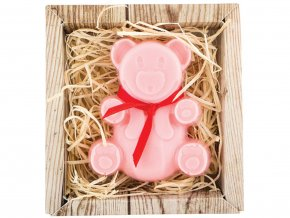 Ručně vyráběné mýdlo - medvídek