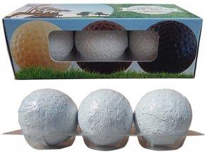 Čokoládové golfové míčky typ 2