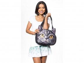 3D kabelka kočka - Typ 4