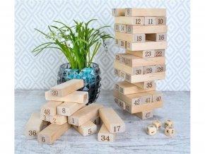 Rodinná hra Dřevěná věž 9