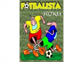 Certifikát - Fotbalista roku