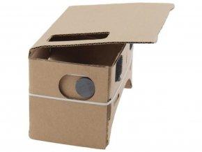 Cardboard 3D brýle