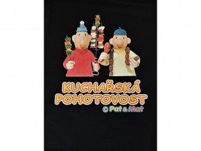 Tričko - Kuchařská pohotovost Pat a Mat