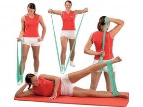 Guma na cvičení 1,2m silná2