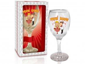 Sklenice na víno První rande1