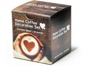 Šablony na kávu 16 kssada se zdobícím sítkem