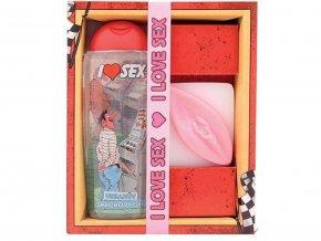 Kosmetický balíček i love sex pro muže
