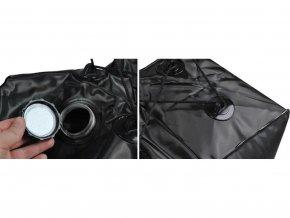 Kempová solární sprcha 40L