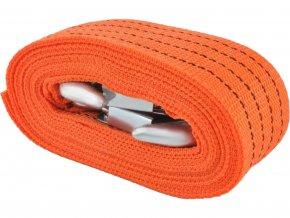 Tažné lano popruh s háky 4m, 3000kg