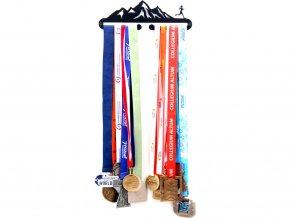 Věšák na medaile - Hory žena