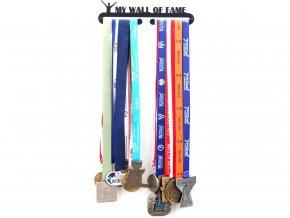 Věšák na medaile My wall of fame