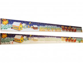 Adventní kalendář Metr 75g – Santa