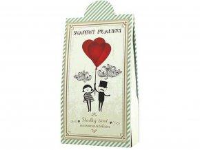 Svatební čokoládové pralinky 100g