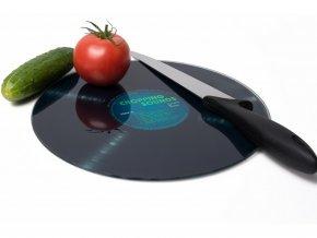 Prkénko na krájení gramofonová deska