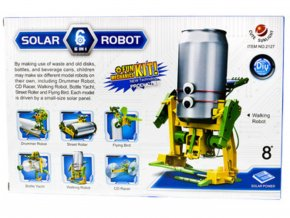 Stavebnice solarbot Fun mechanics