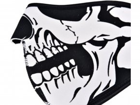 Neoprenová maska lebka