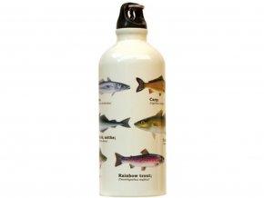 Láhev na vodu s rybami