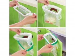 Závěsný držák na odpadkové pytle 1