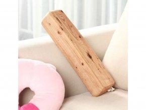 Relaxační polštářek dřevěný trám 1