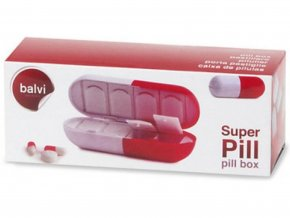 Krabička na léky pilulka