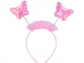 Kostým motýlek s tykadly1