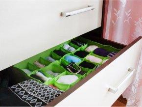 Organizér do zásuvky na prádlo 24 přihrádek