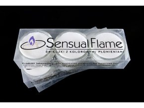 Romantické čajové svíčky - Modrá