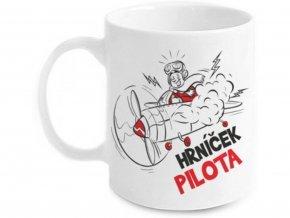 Vtipný hrnek Pilota