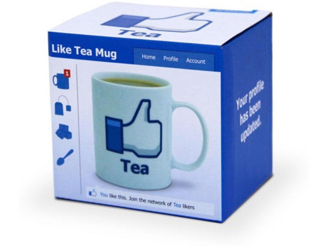 Hrnek facebook - čaj