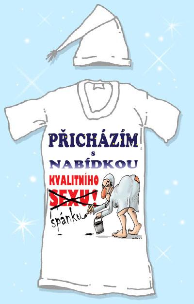 Noční košile - Přicházím s nabídkou Velikost: XXXL