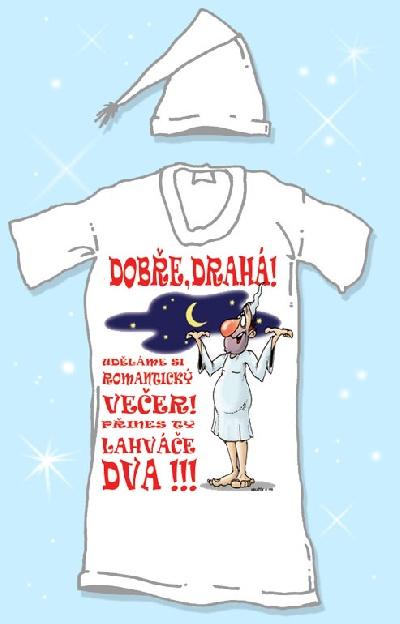 Noční košile - Dobře drahá, uděláme si.. Velikost: XXXL