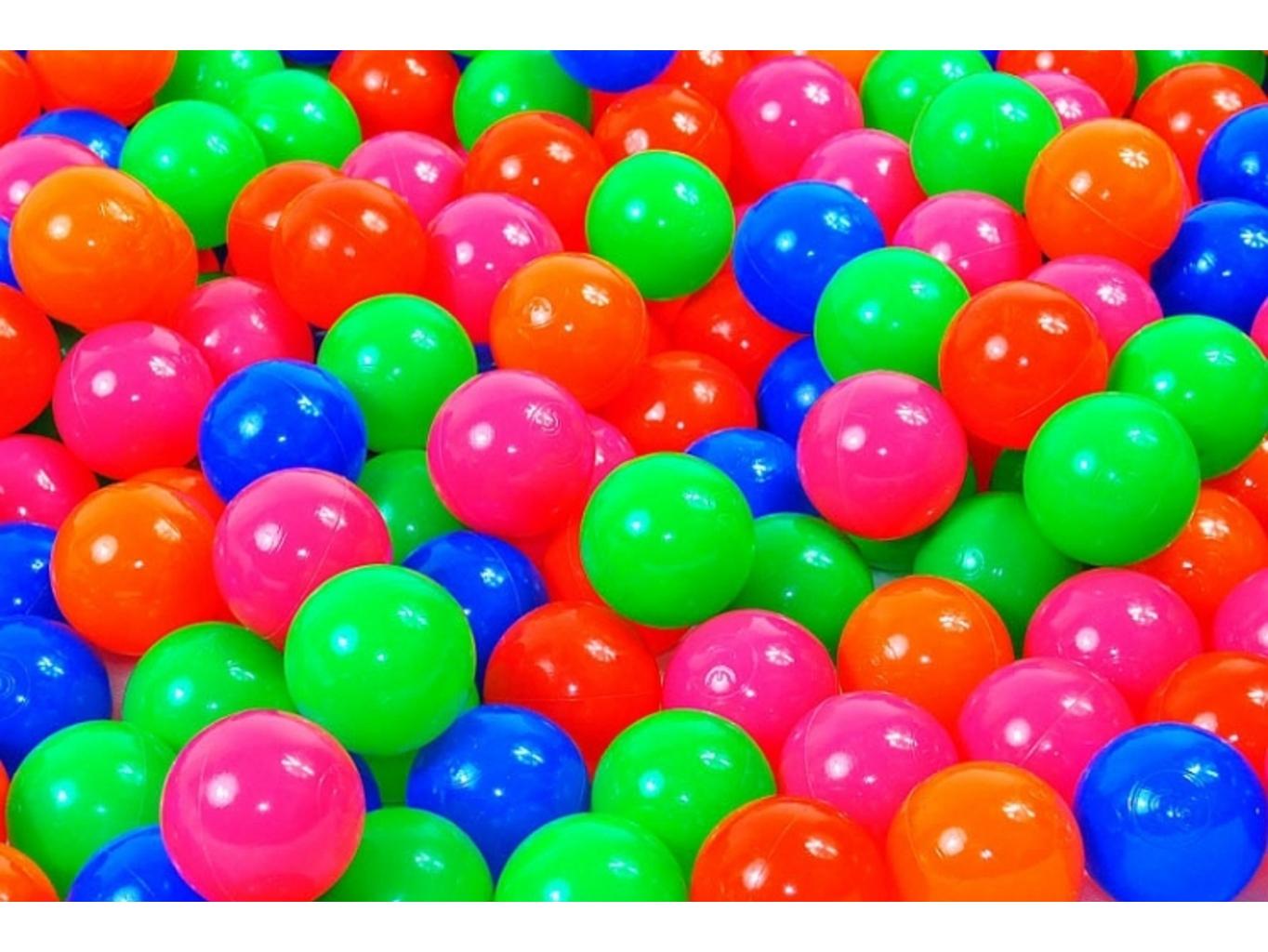 Plastové míčky do bazénu 200ks