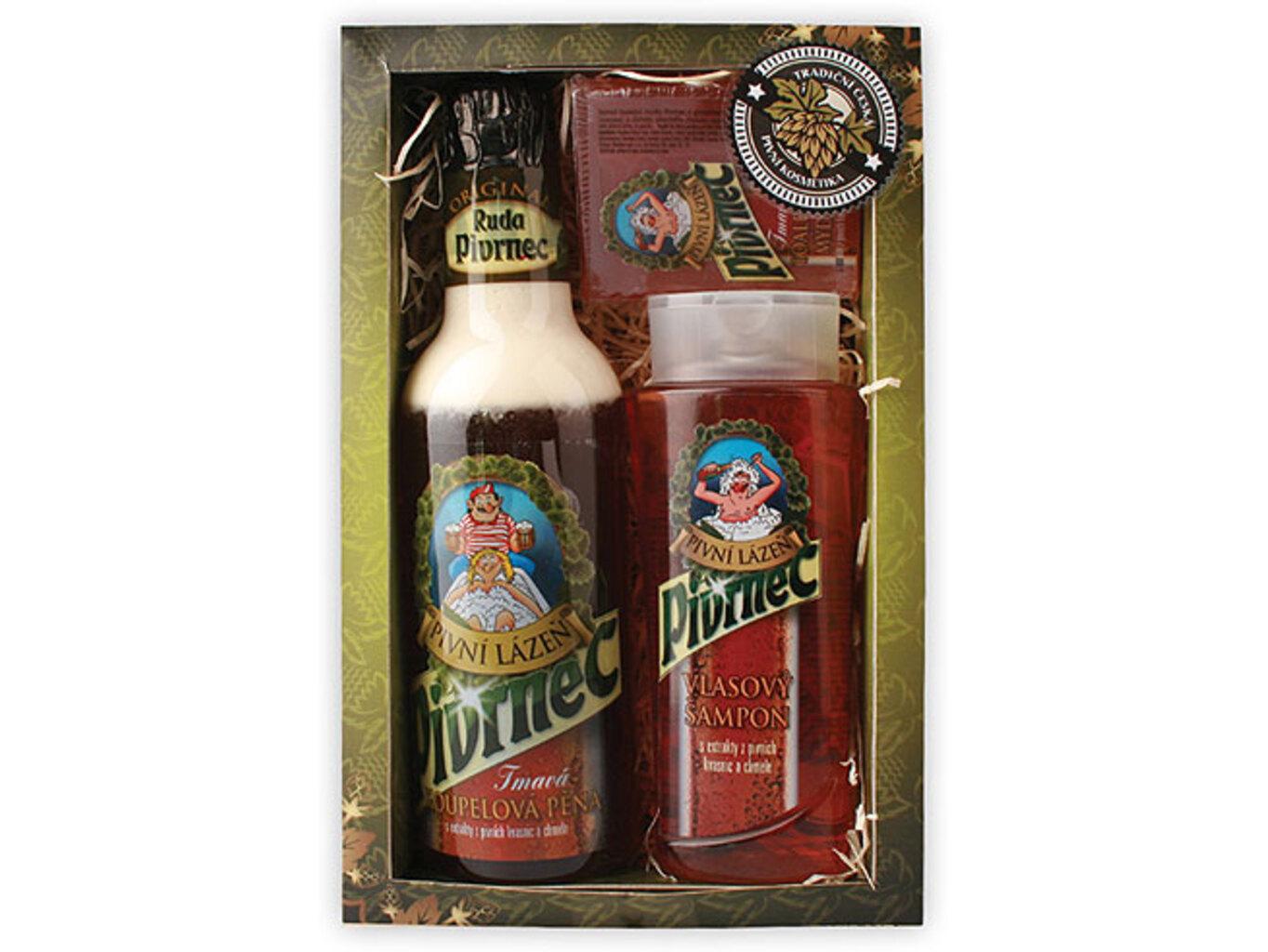 Pivrncova pivní kosmetika - šampon+pěna+mýdlo