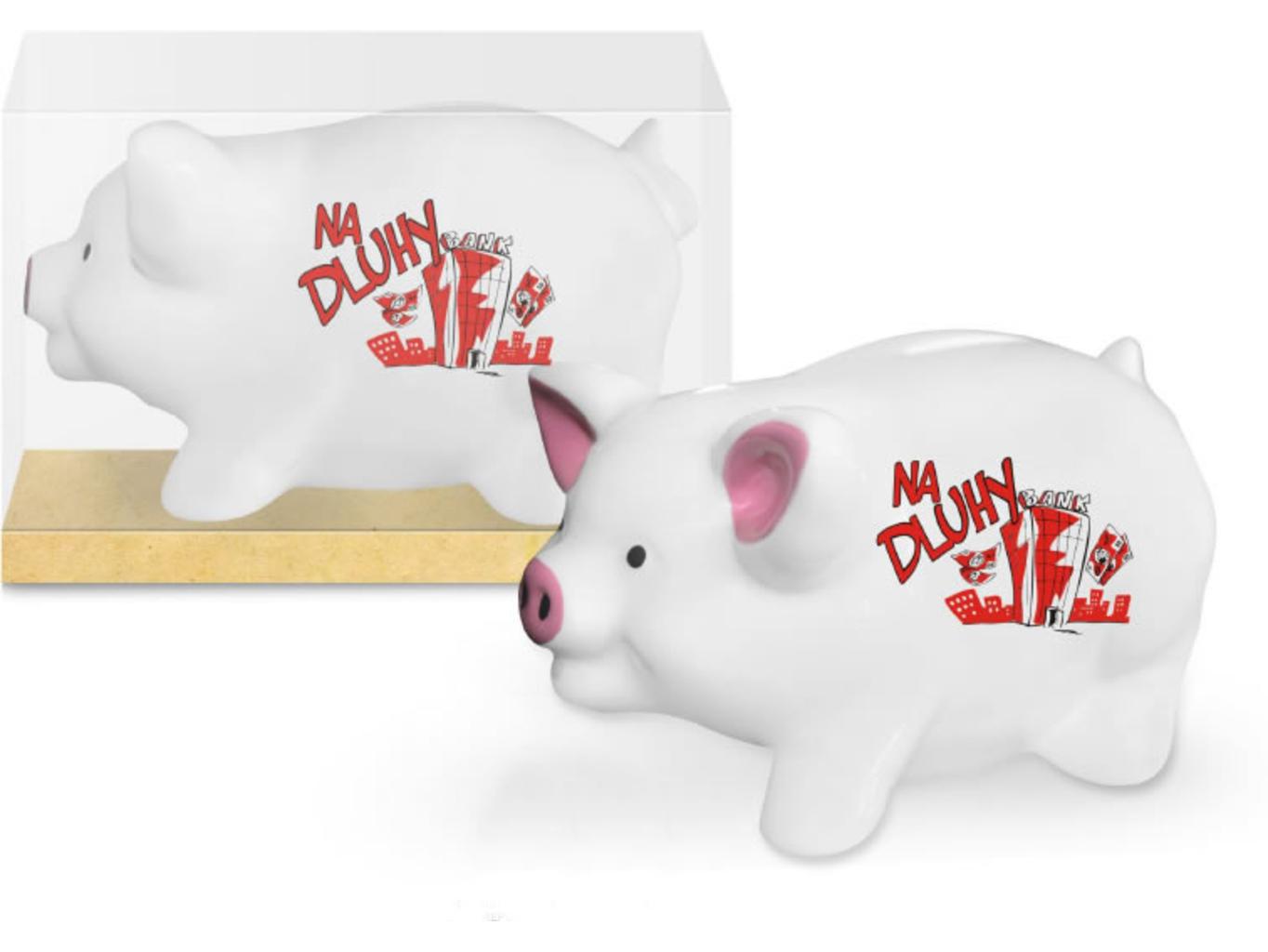 Pokladnička prasátko - Na dluhy
