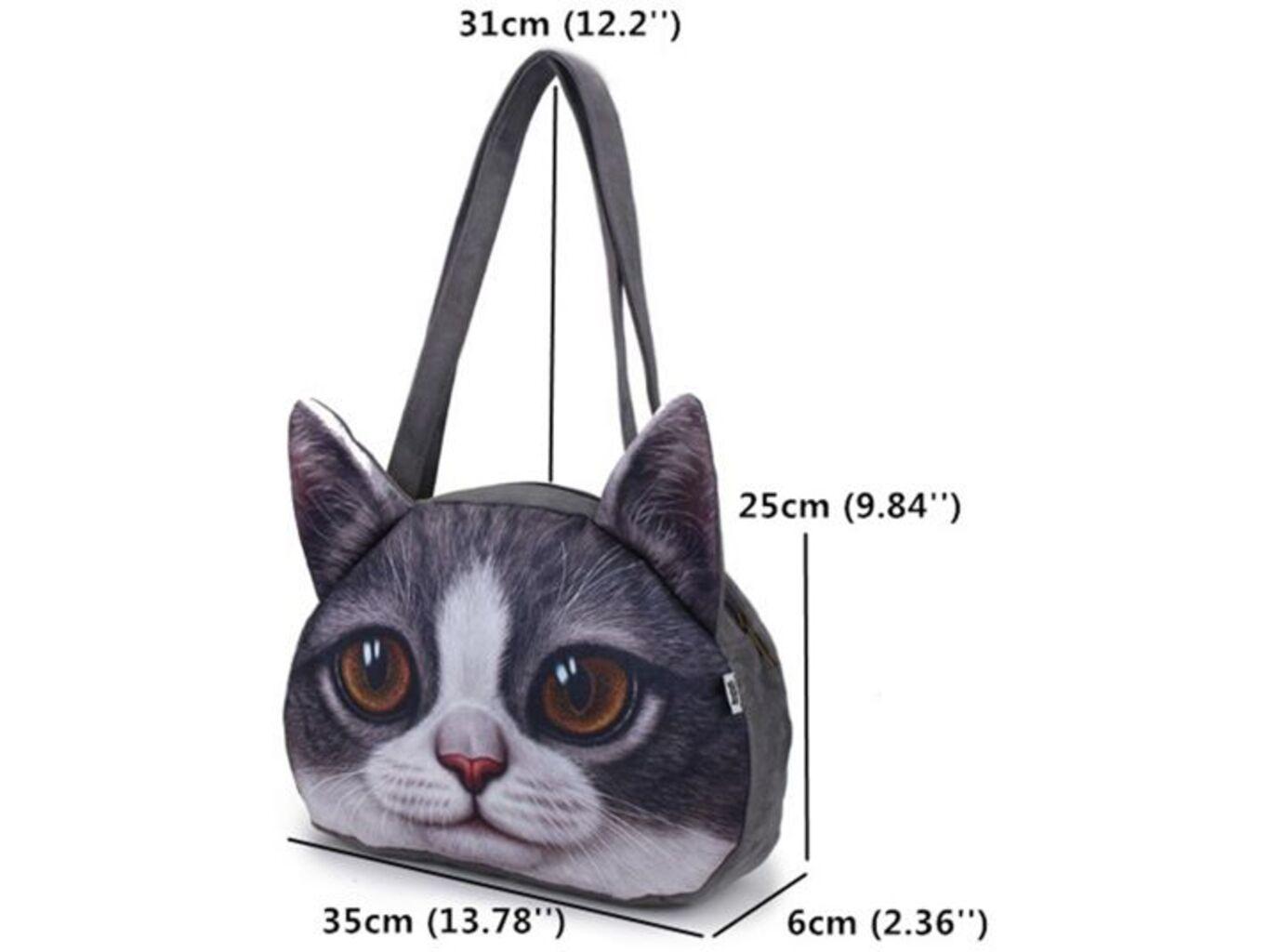 3D kabelka kočka - Typ 3