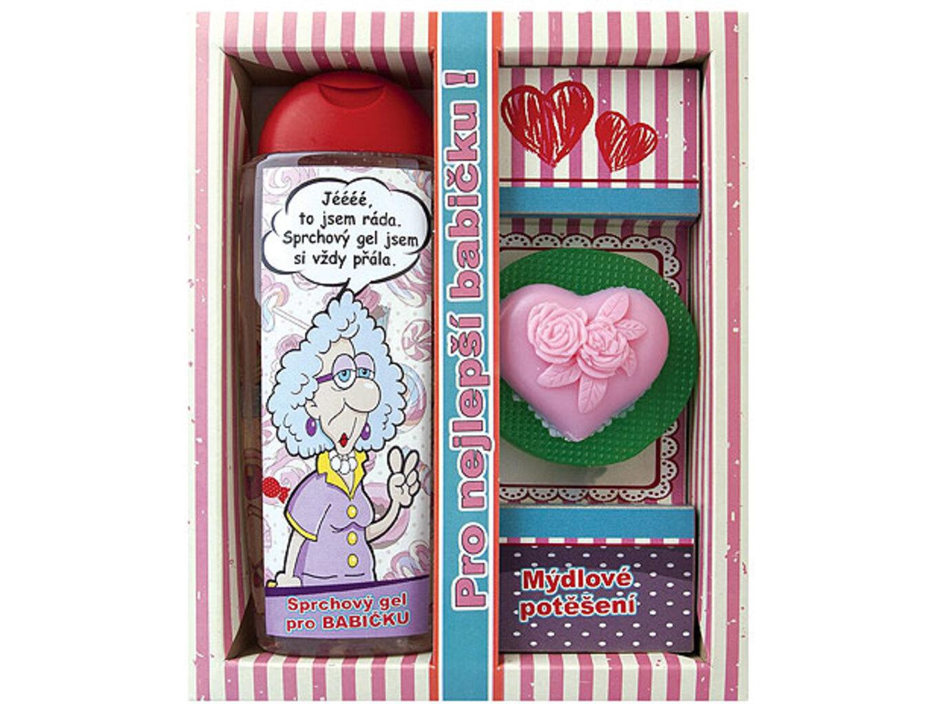 Kosmetický balíček pro babičku