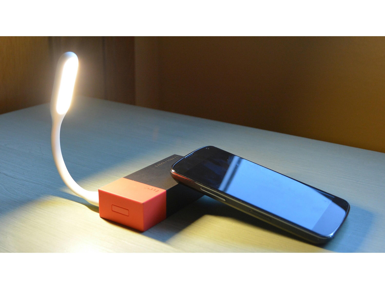 Ohebná USB lampička Barva: Zelená