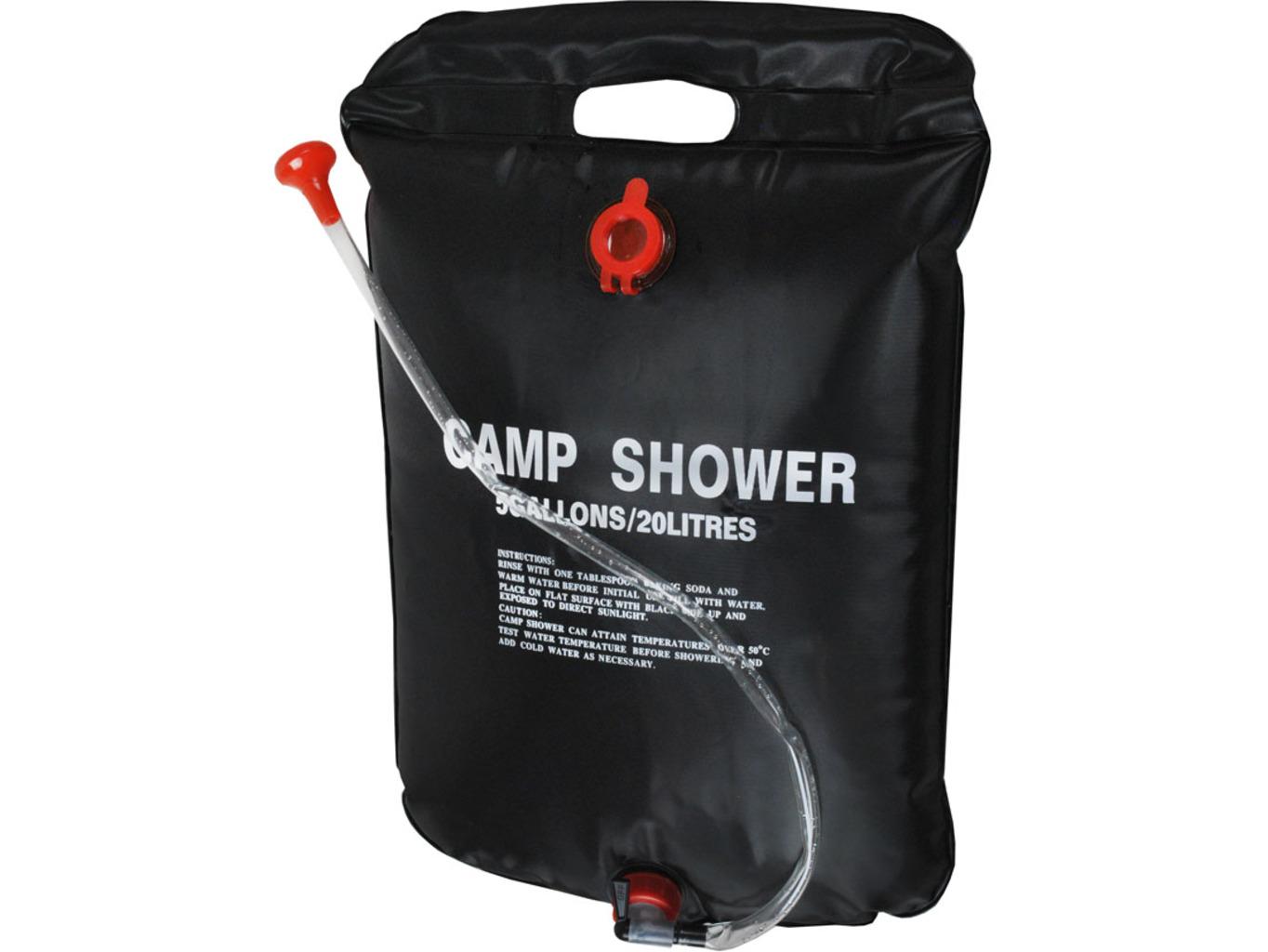 Kempová solární sprcha 20L