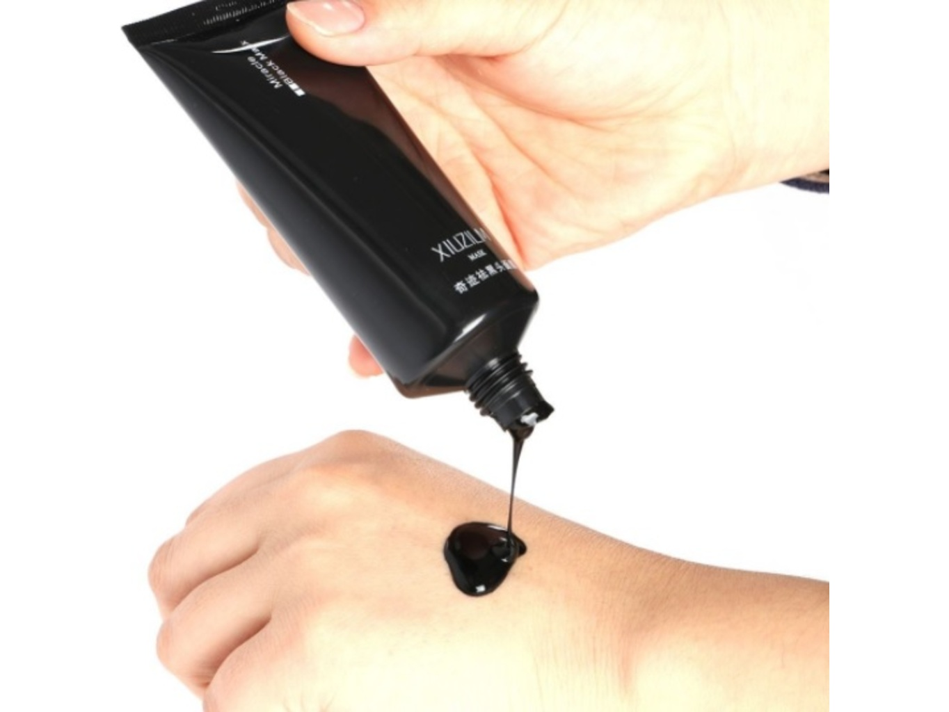Černá slupovací maska 60 g