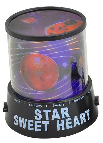 Projektor noční oblohy planety - Poškozene balení