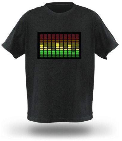 Tričko s ekvalizérem - Model A - Velikost L