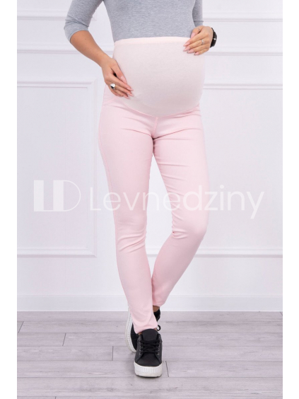 eng pl Maternity pants colored jeans powdered pink 15032 3