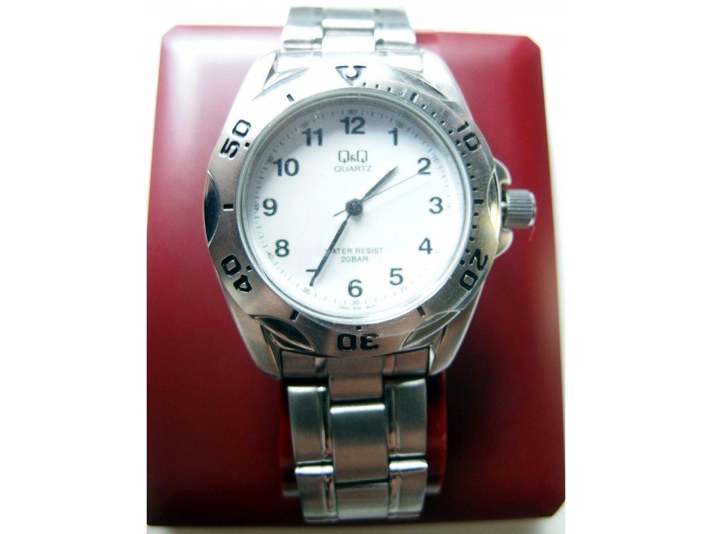 9b161e4922c Kovové pánské hodinky stříbrné