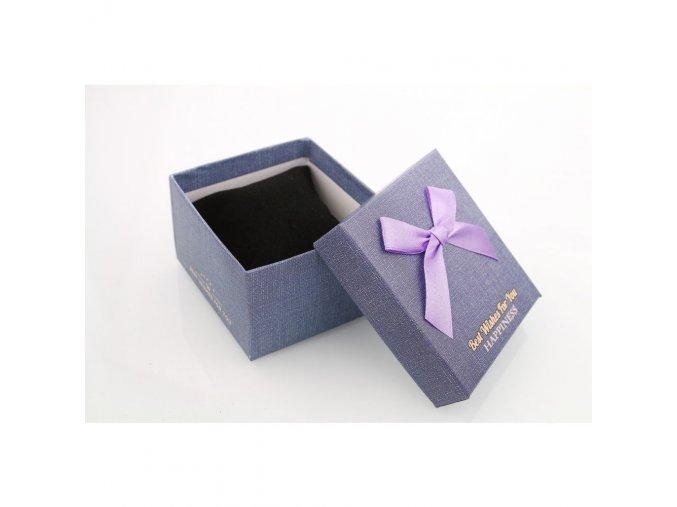Dárková krabička fialová