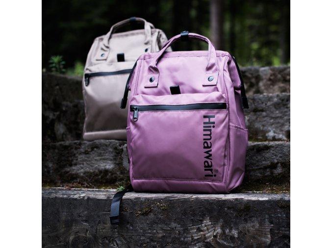 Batoh himawari růžový